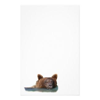 bear custom stationery