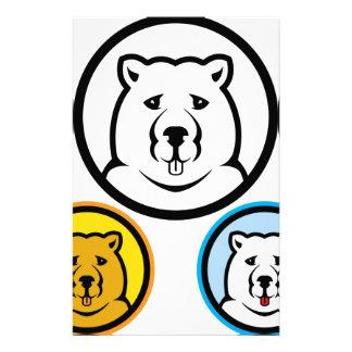 Bear Stationery Paper