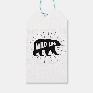 Bear - Stay wild Gift Tags