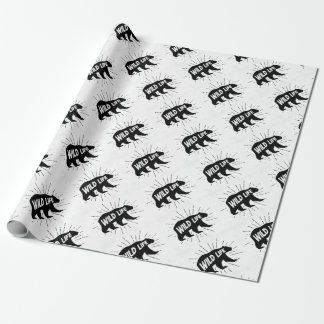Bear - Stay wild Wrapping Paper
