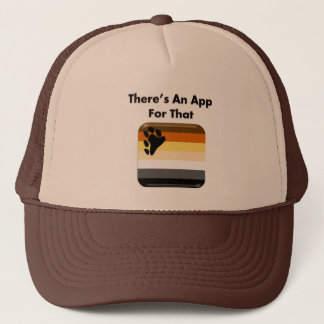Bear: There's An App For That Trucker Hat