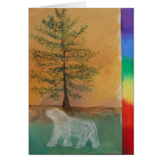 Bear Totem Birthday Card