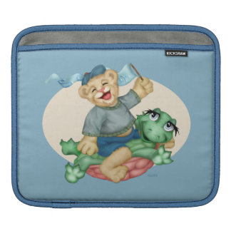 BEAR TURTLE CARTOON iPad H iPad Sleeve
