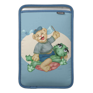 BEAR TURTLE CARTOON Macbook Air MacBook Sleeve