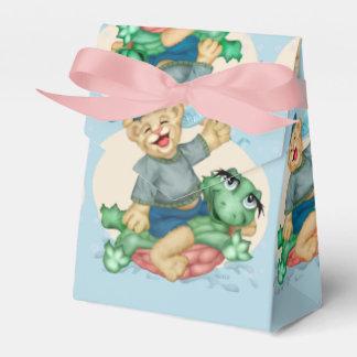 BEAR TURTLE  FAVOR BOX TENT