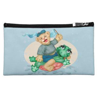 BEAR TURTLE Medium Cosmetic  Bag Makeup Bag