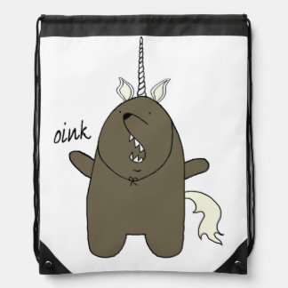 Bear Unicorn bag