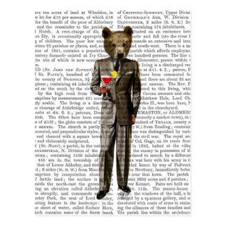 Bear with Cocktail Postcard