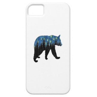 bear with fireflies case for the iPhone 5