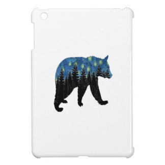 bear with fireflies iPad mini covers