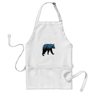 bear with fireflies standard apron