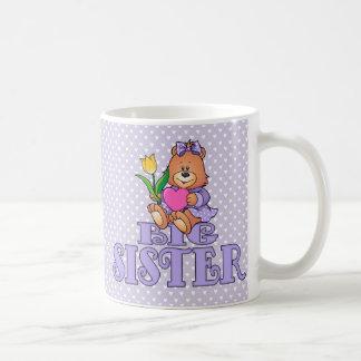 Bear with Heart Big Sister Mugs
