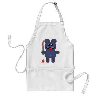 BEAR WITH KNIFE STANDARD APRON