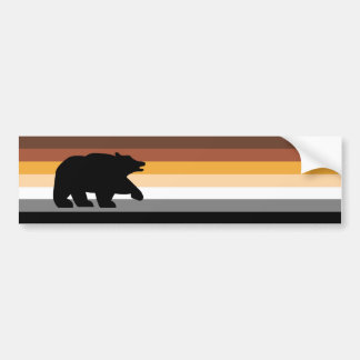 Bear with Pride Bumper Stickers