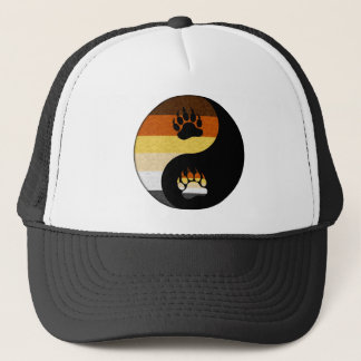 Bear Yin and Yang Trucker Hat
