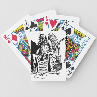 Beard Bicycle Playing Cards