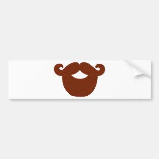 Beard Bumper Sticker