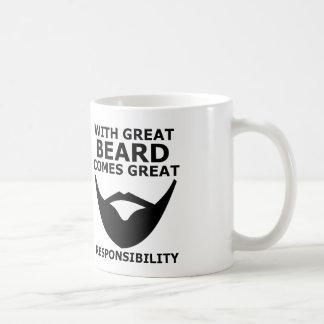 beard coffee mug