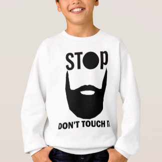 beard design sweatshirt