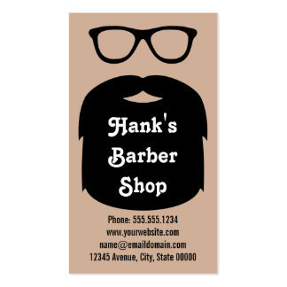 Beard & Glasses Pack Of Standard Business Cards