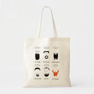 Beard Guide to the saints reusable tote bag