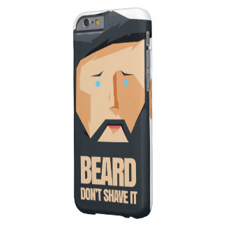 BEARD MAN BARELY THERE iPhone 6 CASE