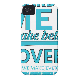 beard men makes better lovers iPhone 4 Case-Mate case
