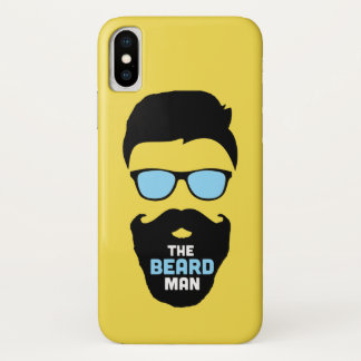 Beard Mens Case Cover