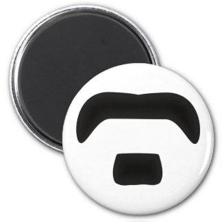 Beard moustache beard moustache magnet
