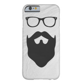 Beard Nerd Barely There iPhone 6 Case
