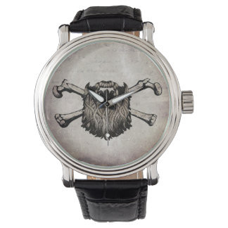 Beard O Clock Wristwatch