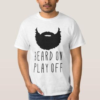 Beard On Play Off Playoff Beard Tee