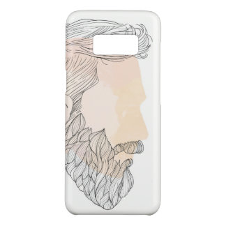 Beard Samsung Galaxy S8, Barely There Phone Case