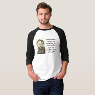 Beard slacker t-shirt