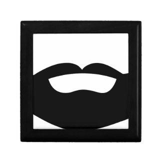 Beard Small Square Gift Box