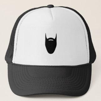 beard trucker hat