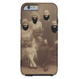 Bearded Bridal Tough iPhone 6 Case Funny