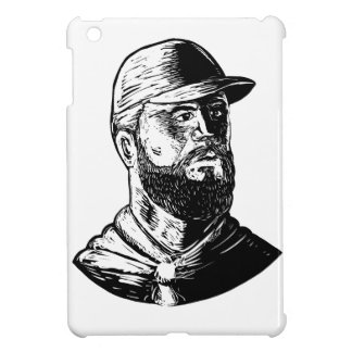 Bearded Chef Scratchboard Case For The iPad Mini
