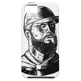 Bearded Chef Scratchboard Case For The iPhone 5