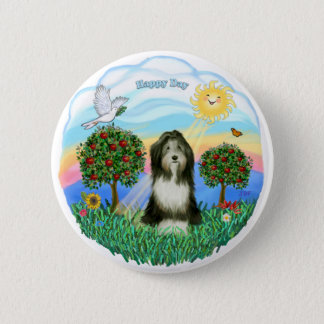 Bearded Collie #8 6 Cm Round Badge