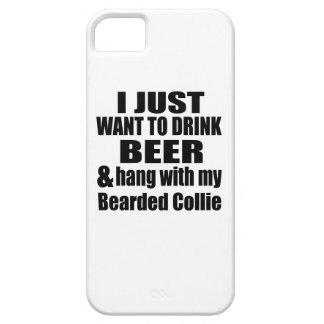 Bearded Collie Dog Designs Case For The iPhone 5