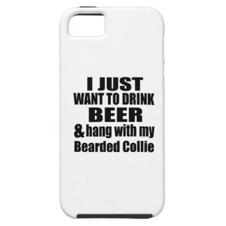 Bearded Collie Dog Designs iPhone 5 Cover
