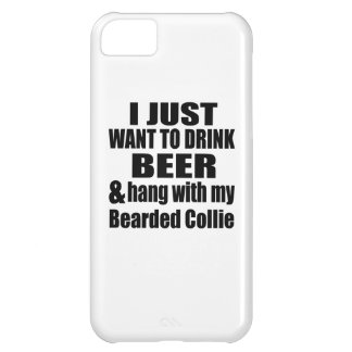 Bearded Collie Dog Designs iPhone 5C Case