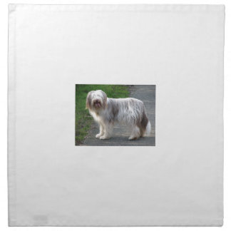 Bearded Collie Dog Napkin