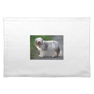 Bearded Collie Dog Placemat