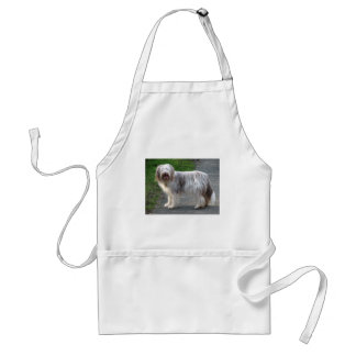 Bearded Collie Dog Standard Apron
