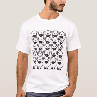 Bearded Collie in the Sheep T-Shirt