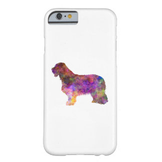 Bearded collie in watercolor barely there iPhone 6 case