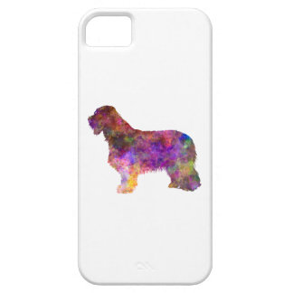 Bearded collie in watercolor case for the iPhone 5
