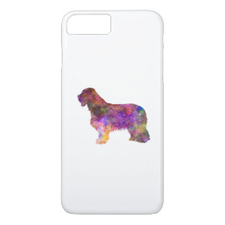 Bearded collie in watercolor iPhone 8 plus/7 plus case